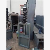 全密封闸阀除尘配件不锈钢焊接插板阀