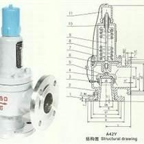 A42Y弹簧全启式安全阀,永一弹簧式安全阀