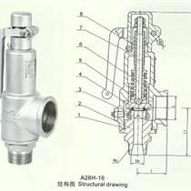 彈簧式外螺紋安全閥A28H(Y)-永一安全閥廣東廣州