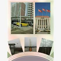 青岛城阳区医院旗杆 广场旗杆 企业旗杆 广告旗杆定做
