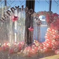 昆明花语花香庆典气球装饰气球布场气球