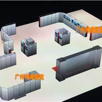 廣州高端展位搭建定制廠家 鋁型材攤位現場安裝