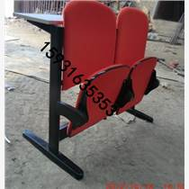 河北勝芳軟包連體課桌椅,軟包連體排椅
