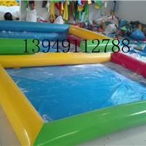 華龍游樂充氣水池充氣游泳池移動水上樂園定制