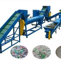 PET塑料破碎清洗线废旧塑料清洗回收整条生产线塑料全