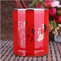 辦公禮品陶瓷筆筒訂制,青瓷筆筒印制書法文字