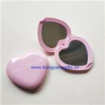 隨身鏡子,雙面桃心鏡子,愛心鏡子
