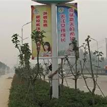 江西廣告燈桿旗 鐵藝架制作