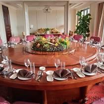 佛山家具供应红木雕花电动餐桌 音乐喷泉电动餐桌 大理