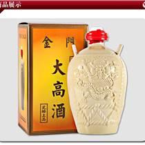53度壇裝一公升金門大高酒黃壇瓷瓶高粱酒