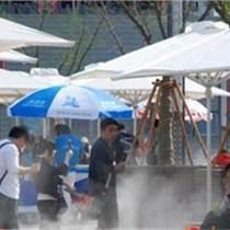户外休闲广场公园冷雾人造雾系统