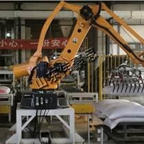 廠家直銷大米機械手碼垛機 自動化碼包機工作流程