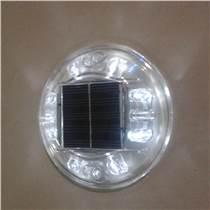 圆形塑料太阳能无线同步智能闪烁道钉