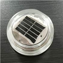 埋入式圆形太阳能玻璃道钉无线同频智能闪烁
