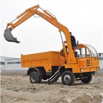 四不像運輸車車載挖機 農用四不像隨車挖 自制挖掘機廠