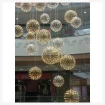 酒店大堂 大型商業空間 中庭亮化美陳燈具 銘星燈飾O