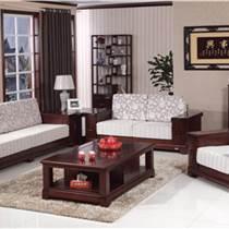 供應木言木語新中式實木沙發組合 帶儲物沙發客廳全實木