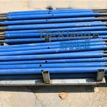斜支撐鋪軌鋼軌支撐架使用