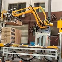 廠家直銷果汁自動拆垛機器人 紙箱桁架卸垛設備廠家