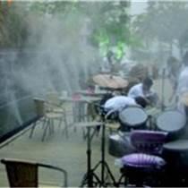 專業承包戶外露天餐廳酒吧噴霧降溫工程