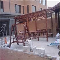 门头沟庭院绿化设计制作防腐木花架设计施工