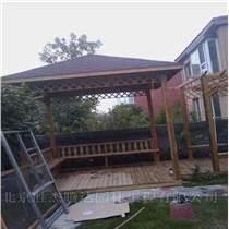 门头沟屋顶花园设计制作屋顶花架亭子施工公司