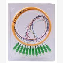 廣電APC/SC12色束狀尾纖/跳線單價《直銷雅安電