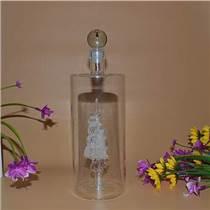 定制玻璃白酒瓶 異形玻璃酒瓶 帆船酒瓶工藝廠家