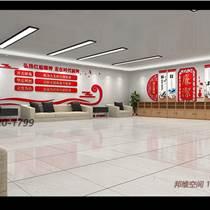 青島市北區政府機關黨建文化墻設計制作安裝
