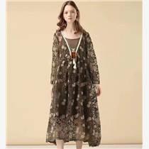 深圳品牌女裝了然秋冬裝 品牌女裝專柜尾貨 品牌折扣女