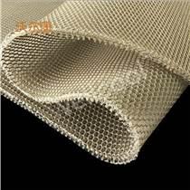 沃爾康3D網布材料工廠批量2cm厚3D網眼布 本白3