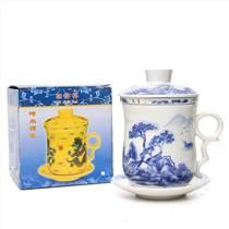 景德鎮陶瓷茶杯廠家定制LOGO