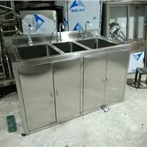 304不锈钢洗手池不锈钢货架推车定制厂家