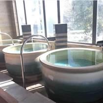 陶瓷泡澡大缸 一米大缸 溫泉洗浴會所浴缸定制