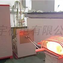金屬棒鍛造用什么加熱設備 中頻感應加熱鍛造爐