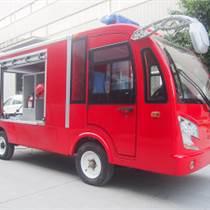 尚勇SYX-X750LF 全封閉駕駛式帶箱消防車