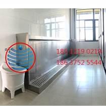 衡陽市學校衛生間感應沖水不銹鋼小便槽廠家
