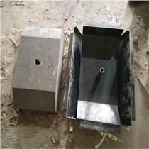 電線桿地下埋藏拉線盤模具-混凝土澆筑-鋼板切割制作