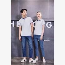工作服定制短袖POLO衫印logo刺绣男女企业定做纯