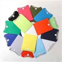 夏季短袖純棉工作服男女定制T恤廣告文化POLO衫衣服