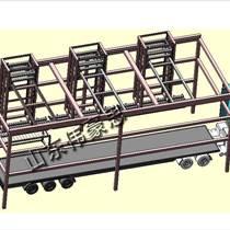 供應桁架式自動裝車機設備 陶瓷粉裝車機系統