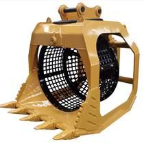 挖机旋转筛分斗专业分拣设备质量保证