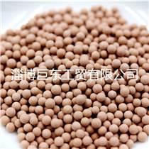 麥飯石陶瓷顆粒球  水處理濾料凈水球