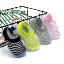 廠家直銷防滑軟底透氣減震耐磨精梳棉地板鞋