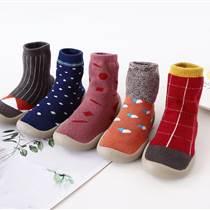 廠家直銷防滑軟底透氣減震耐磨精梳棉地板鞋襪