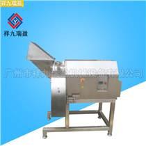 國內首發三維凍肉切丁機