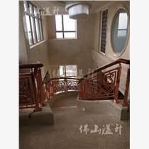 浙江酒店爆款铜艺楼梯扶手供应