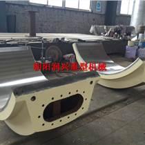 工廠加工 可圖紙定制 巴氏合金球磨機軸瓦