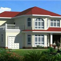 三十天建二百平輕鋼別墅房屋