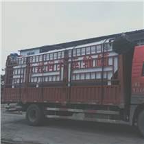 雞舍外的散裝飼料罐28噸前四后八飼料車車型中心